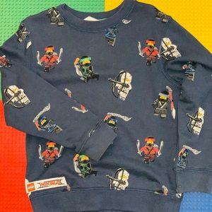 Ninjago printed crew neck sweater